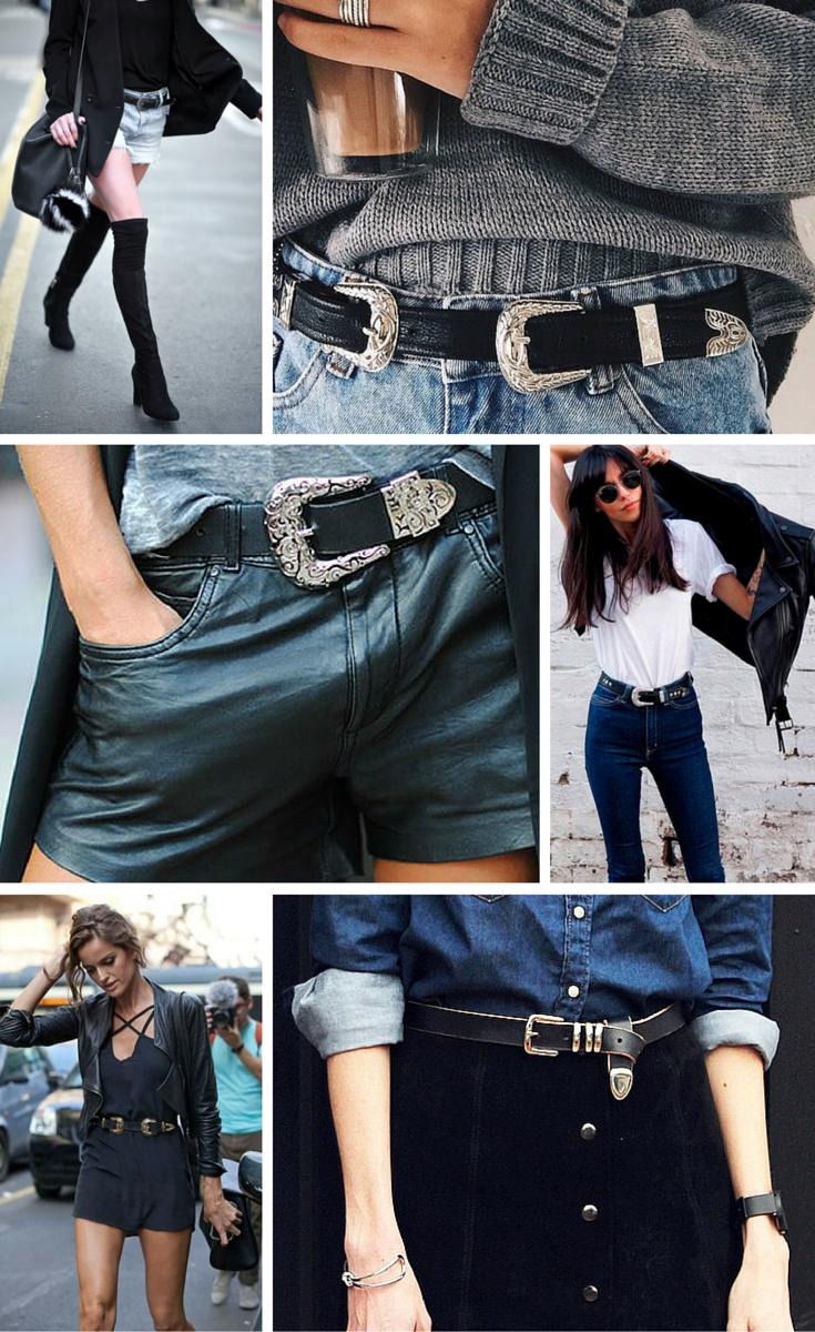 Cowboy Belt Outfit Idéer