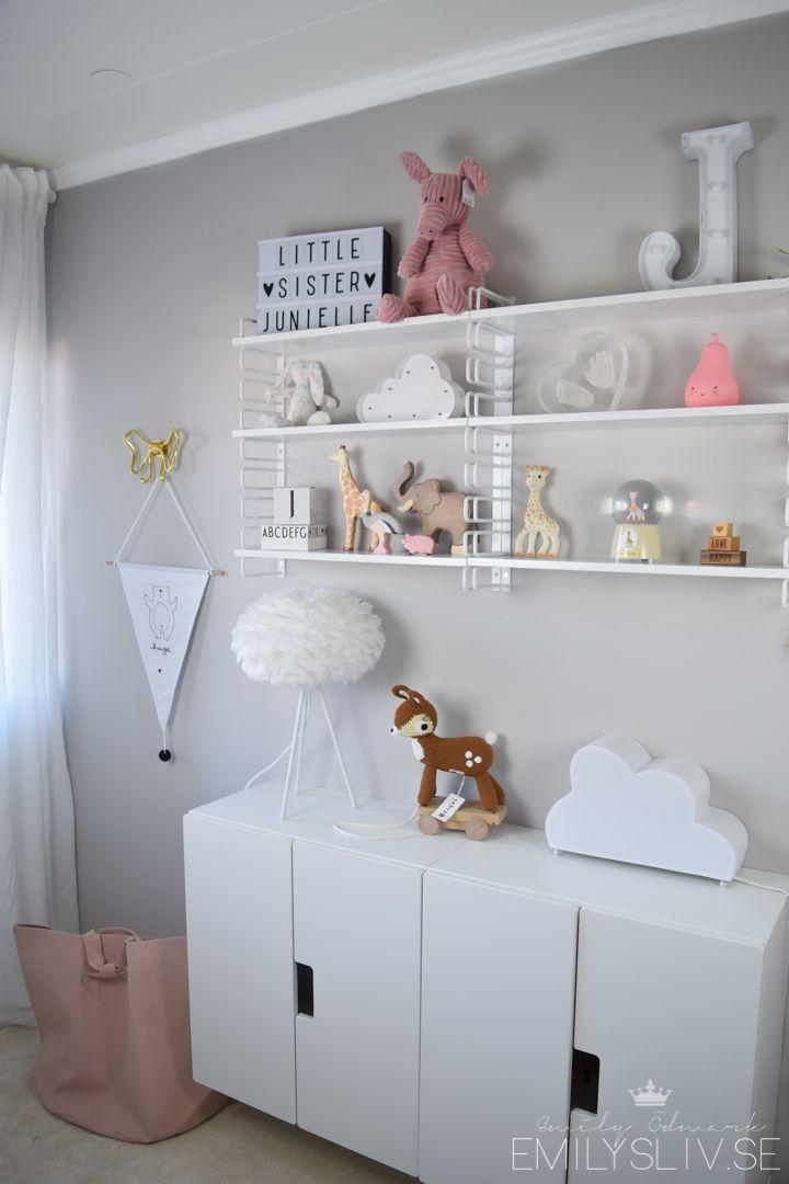 Dekorera organisera barnrummet