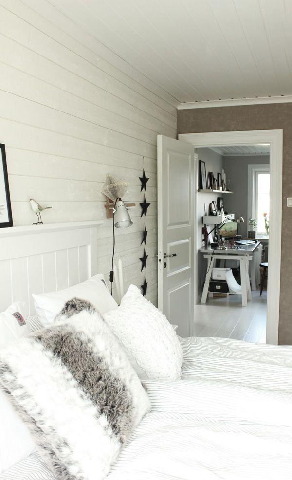 Delad gäst sovrum dekor