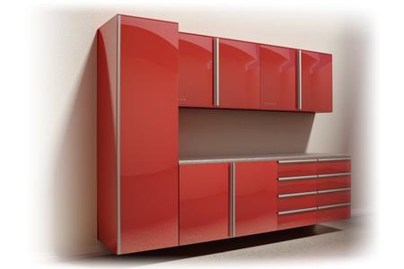 Designers Modern Garage Storage System From Vault