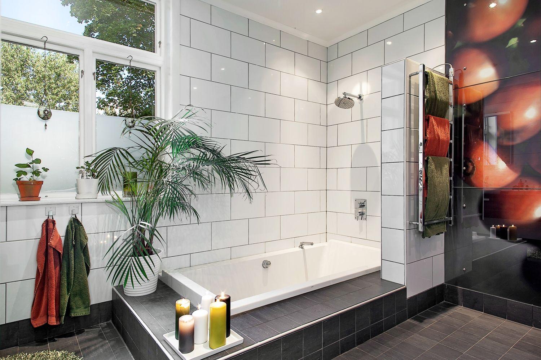 Drömmande nedsänkt badkar design för att koppla av