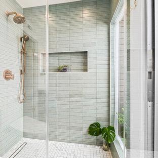 Eklektiska badrum