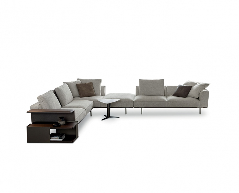 Elegant modulär soffa
