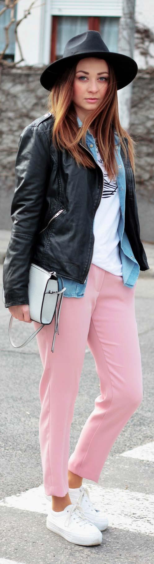Enkel och avslappnad outfit för våren