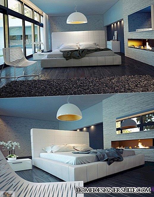 Enkla och eleganta moderna sängar från mitten av århundradet