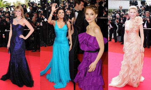 Fantastiska utseende från filmfestivalen i Cannes