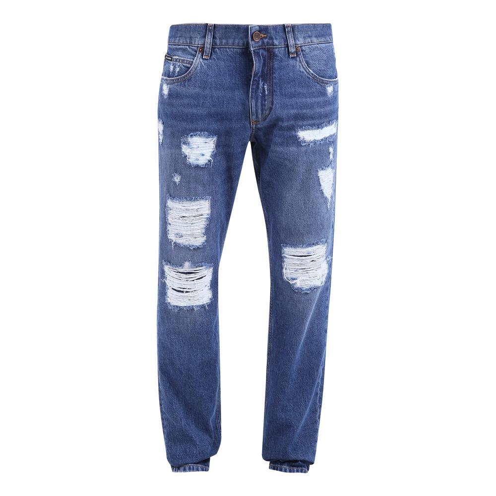 Förstörda jeans