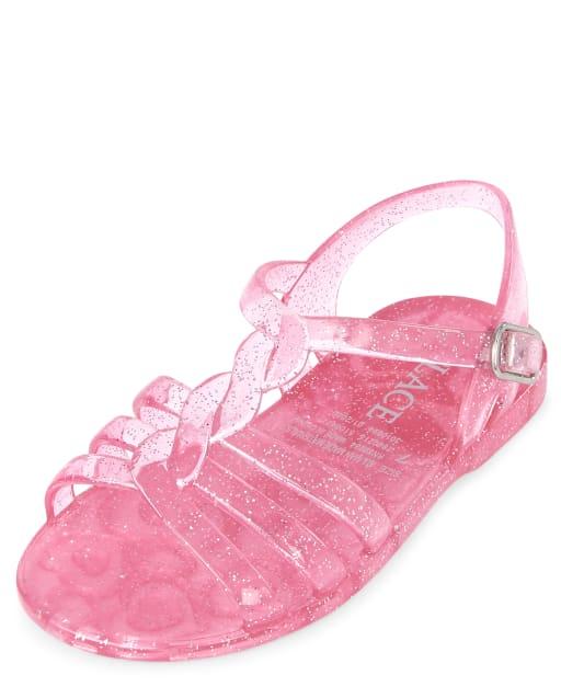 Småbarn Flickor Glitter Jelly Sanda