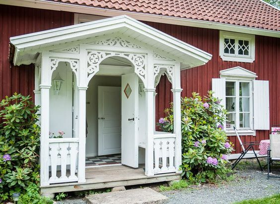 Glada sommar veranda dekor idéer