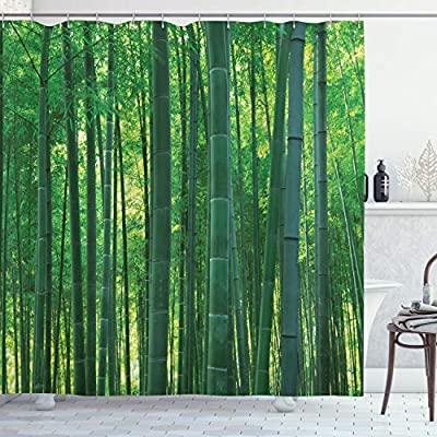 Grön badrumsdekor