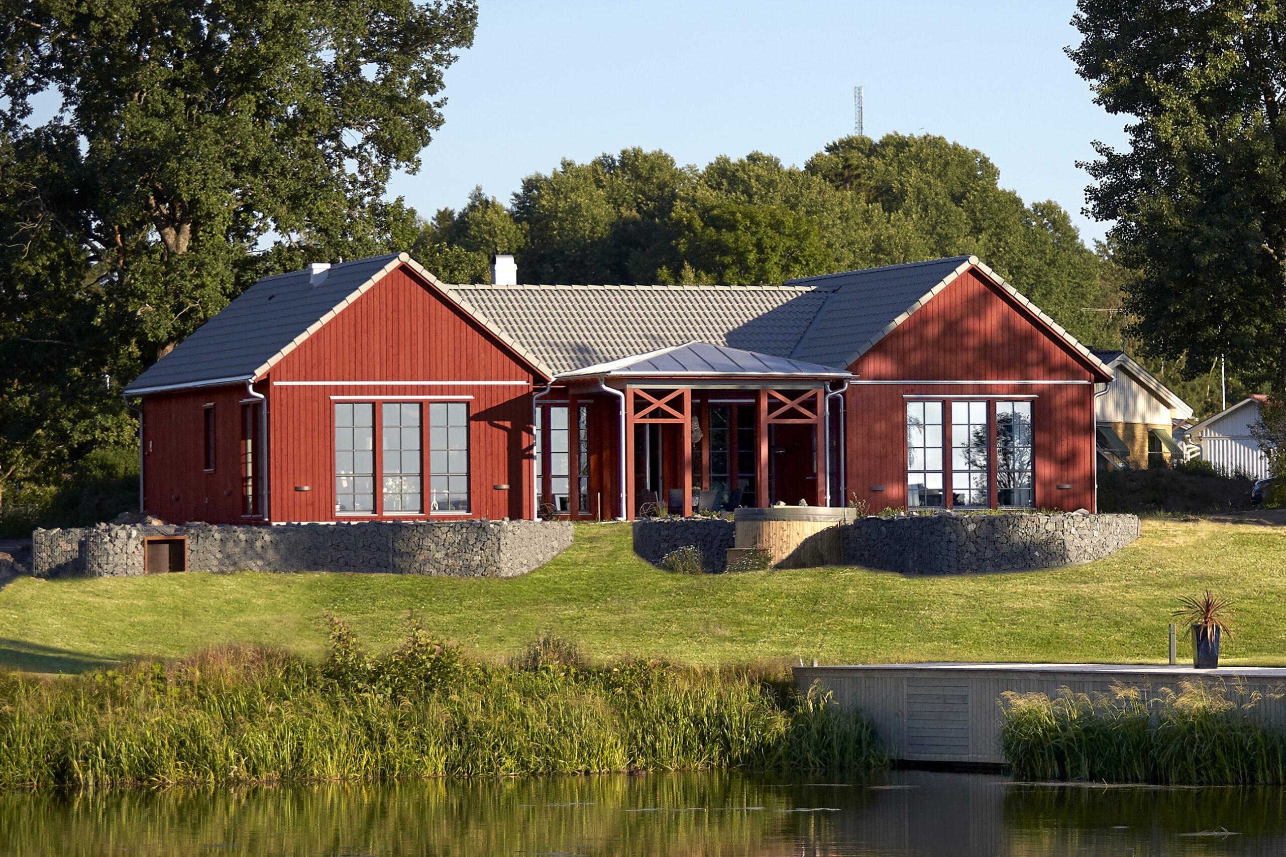Hållbart hus som anpassar sig