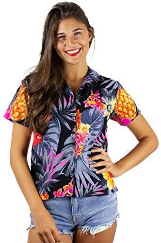 hawaiiansk skjorta för kvinnor