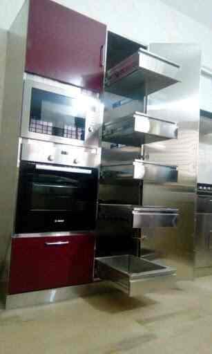 Hi Tech Kitchen Kran med pekskärmskontroll
