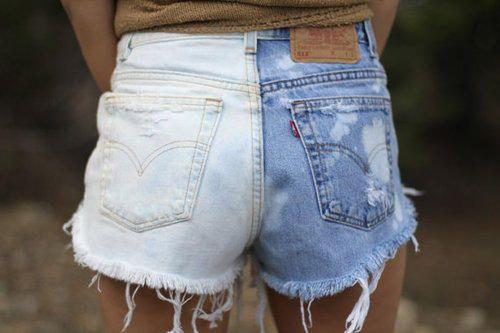 Hur man bär avskurna Jean-shorts