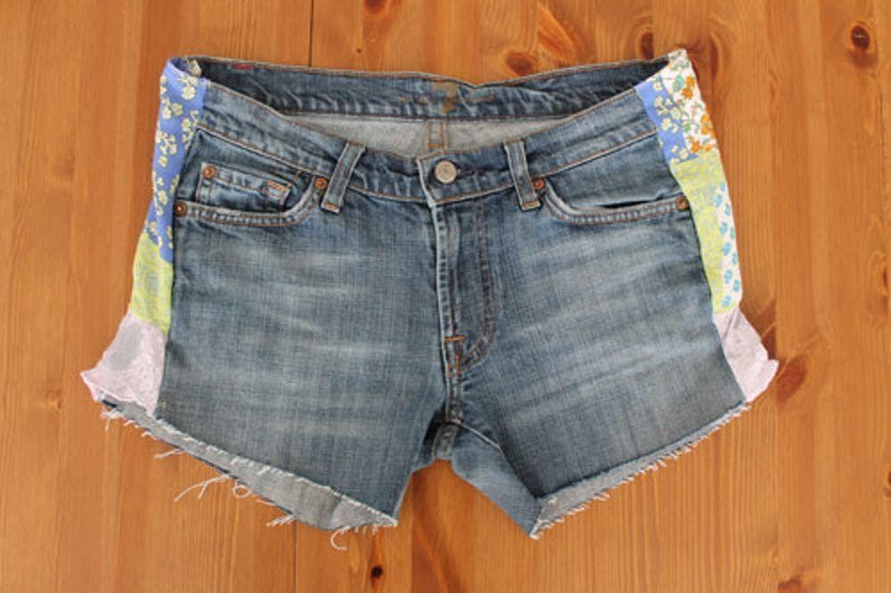 Hur man bär avskurna jeansshorts