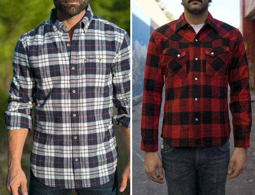 Hur man bär flanellskjorta