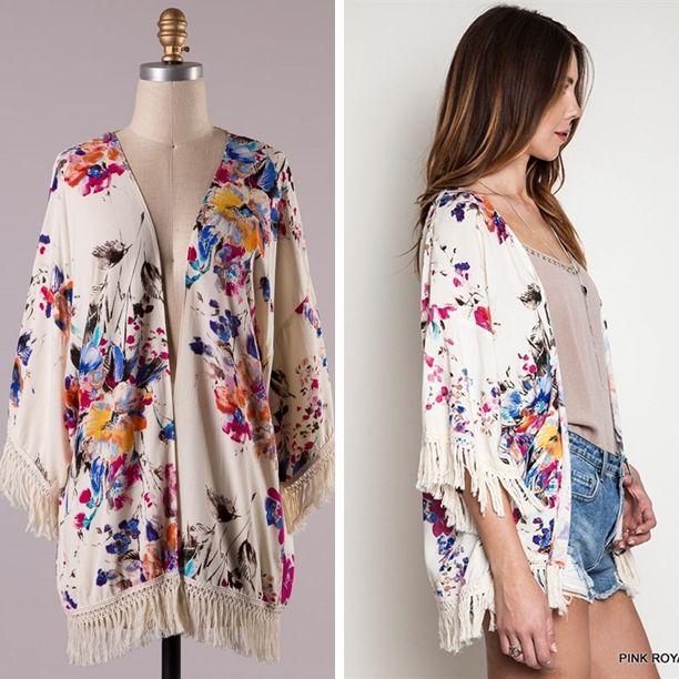Hur man bär Fringe Kimono