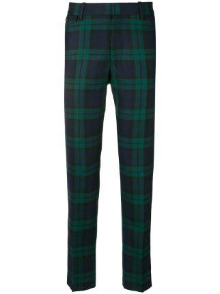 Hur man bär gröna rutiga byxor