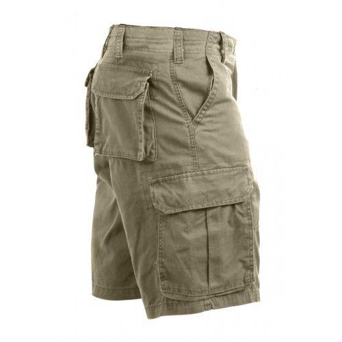 Hur man bär Khaki Cargo Shorts