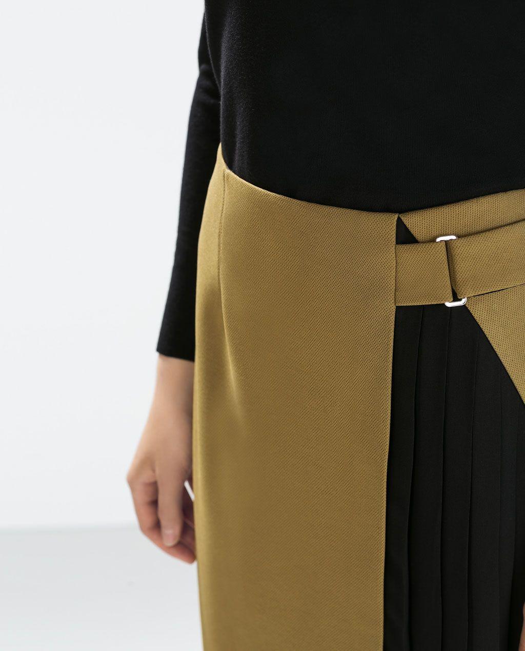 Hur man bär kjolar med fickor