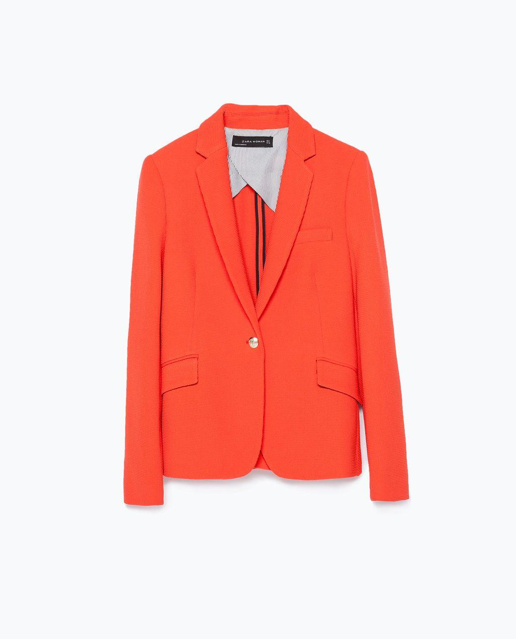 Hur man bär Orange Blazer