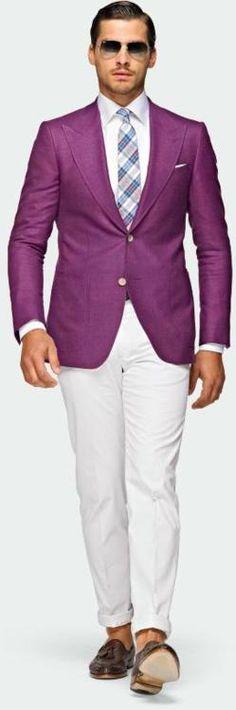 Hur man bär Purple Blazer