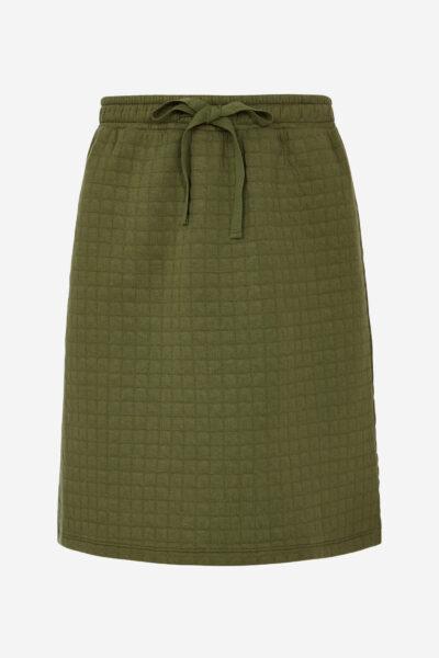 Hur man bär quiltad kjol