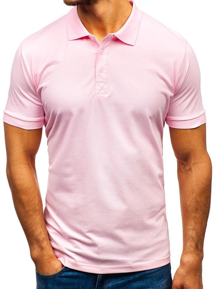 Hur man bär rosa pikétröja
