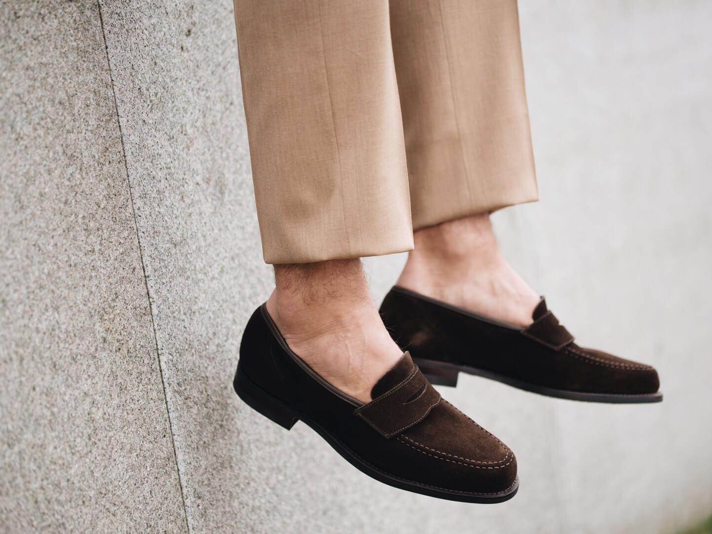 Hur man bär rygglösa loafers