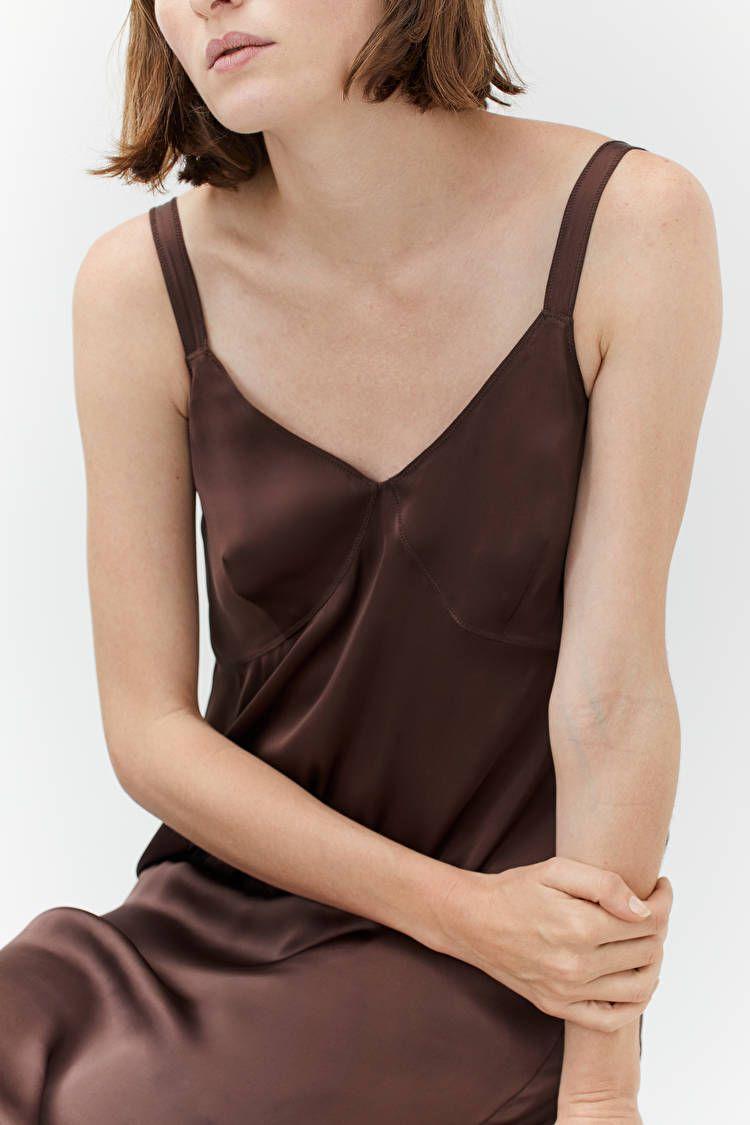 Hur man bär Silk Slip Dress