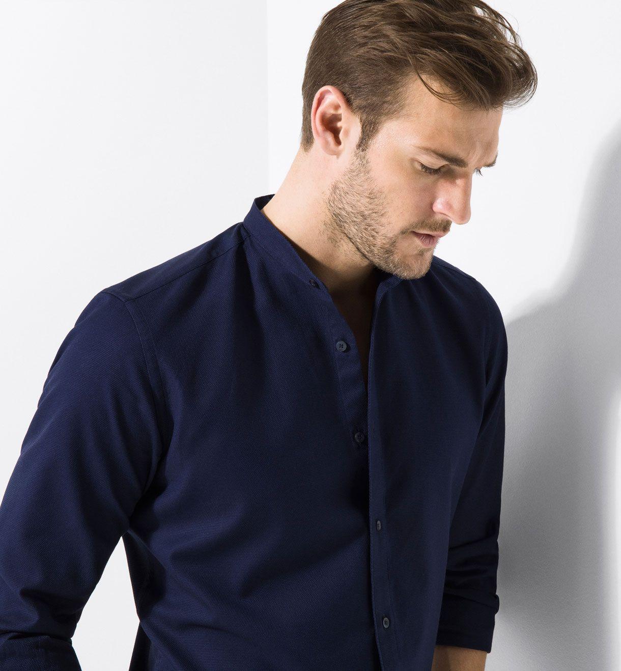 Hur man bär Slim Fit Shirt