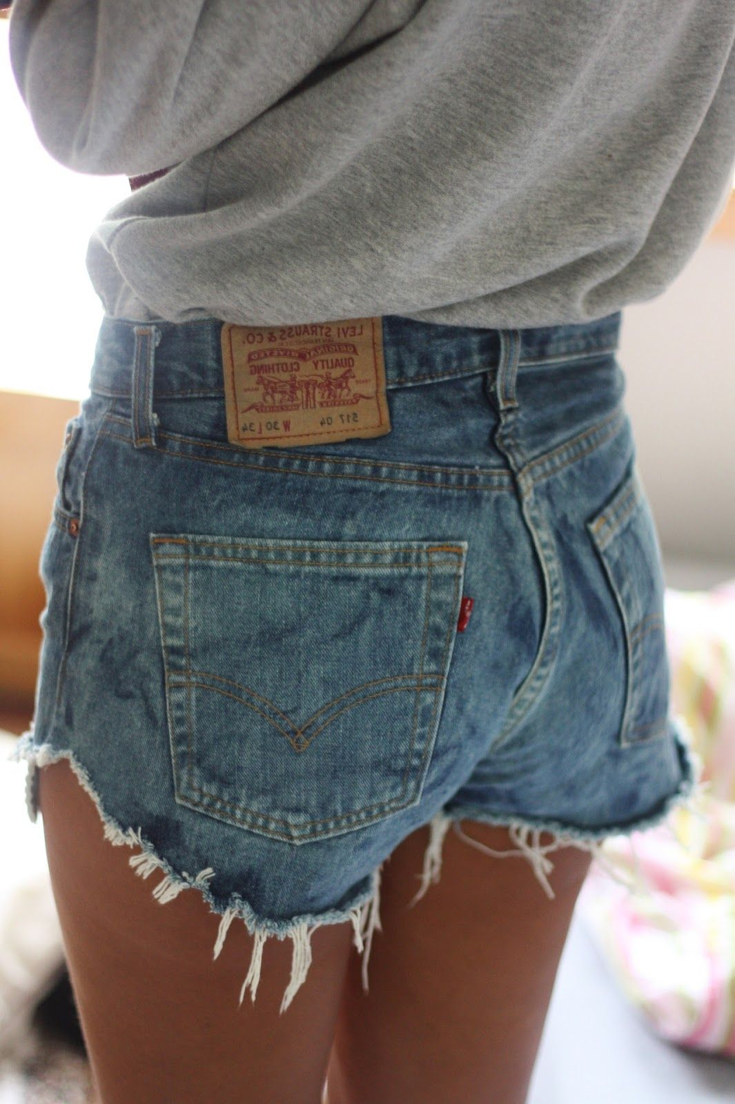 Hur man bär söta Jean-shorts