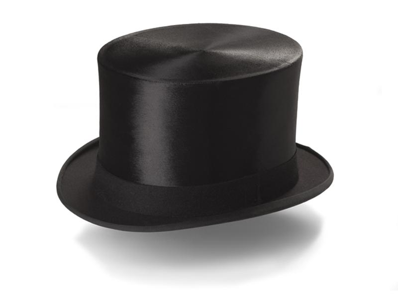 Hur man bär svart filthatt