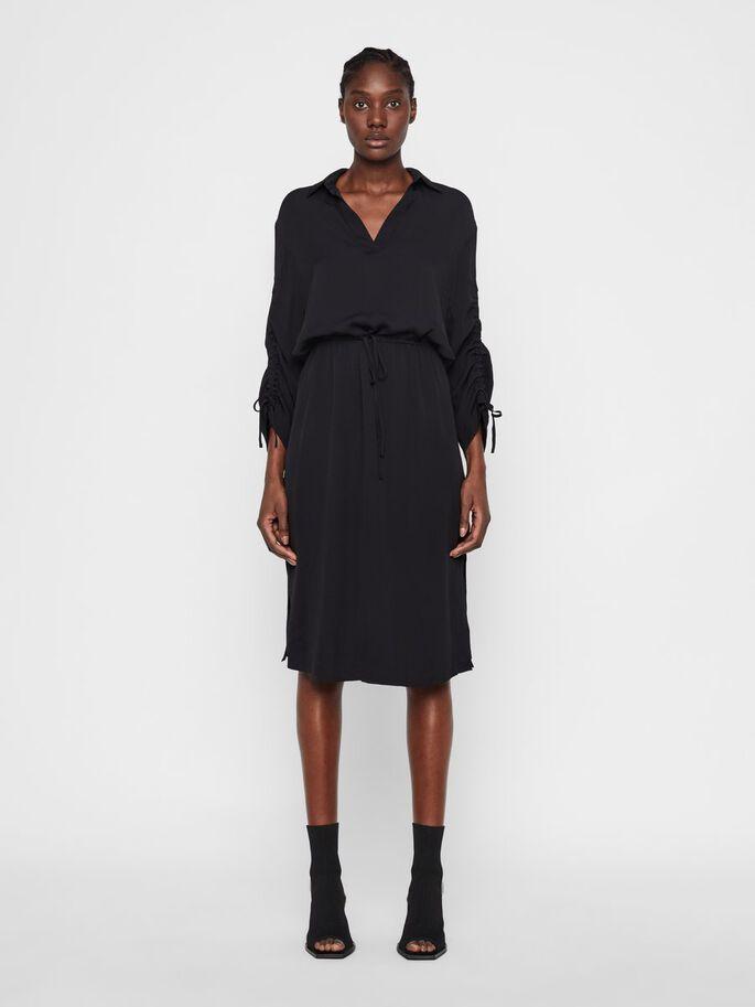 Hur man bär svart midiklänning