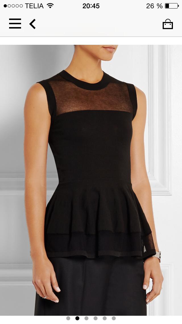 Hur man bär svart Peplum-klänning