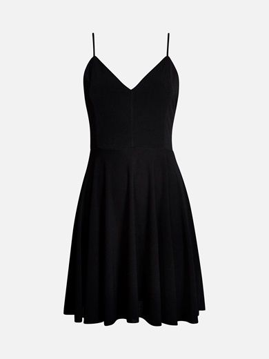 Hur man bär svart strappy klänning