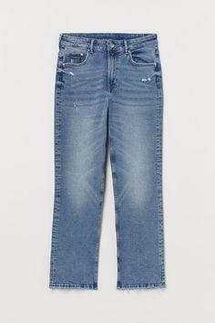 Hur man bär veckade jeans