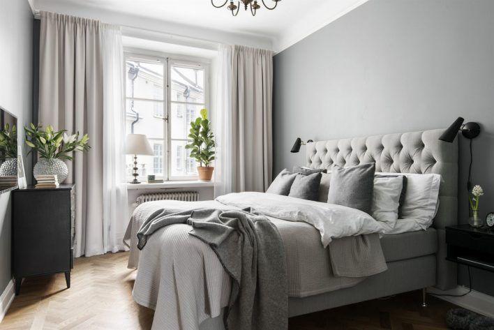 Hur man gör ett grått sovrum coolt