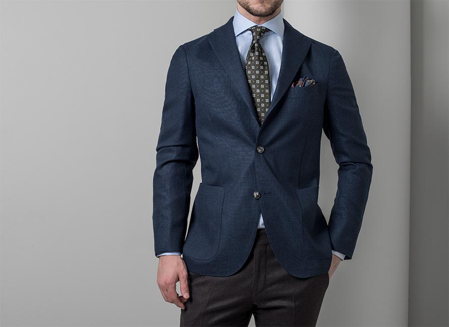 Hur man klär kostymjacka