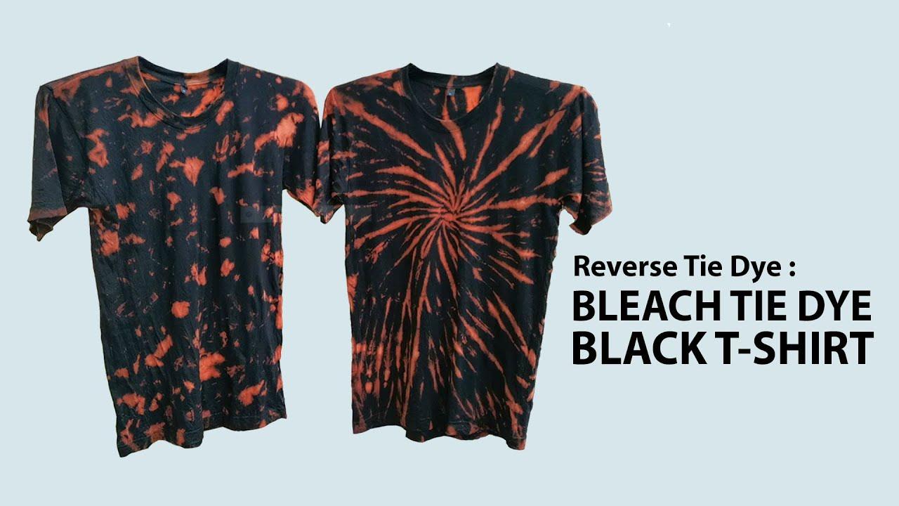 Hur man utformar Black Tie Dye Shirt