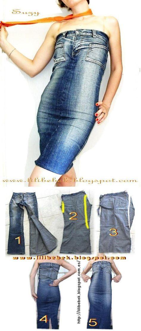 Hur man utformar Blue Jean Dress