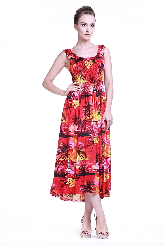 Hur man utformar klänning med hawaiianska tryck