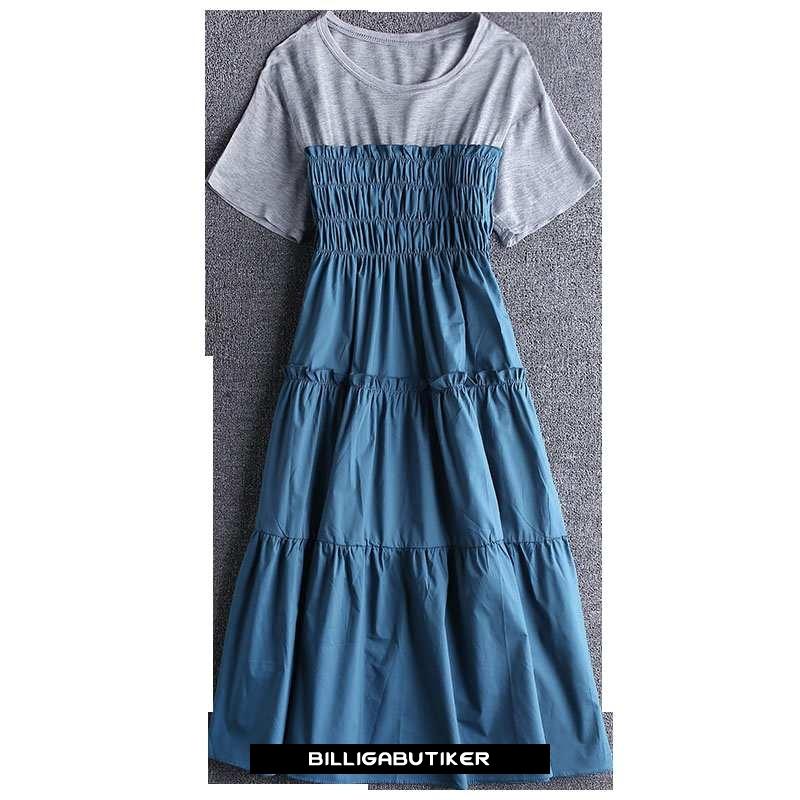 Hur man utformar kortärmad klänning