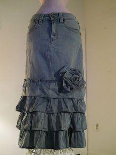 Hur man utformar ruffle kjol