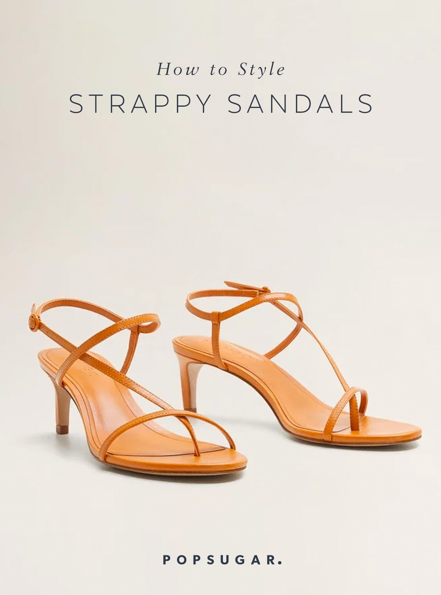 Hur man utformar strappy sandaler