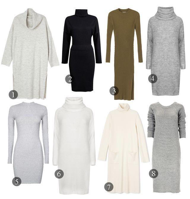 Hur man utformar turtleneck tröja klänning