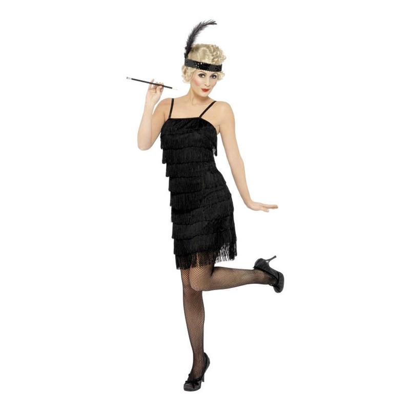 Hur man utformar vit Flapper-klänning