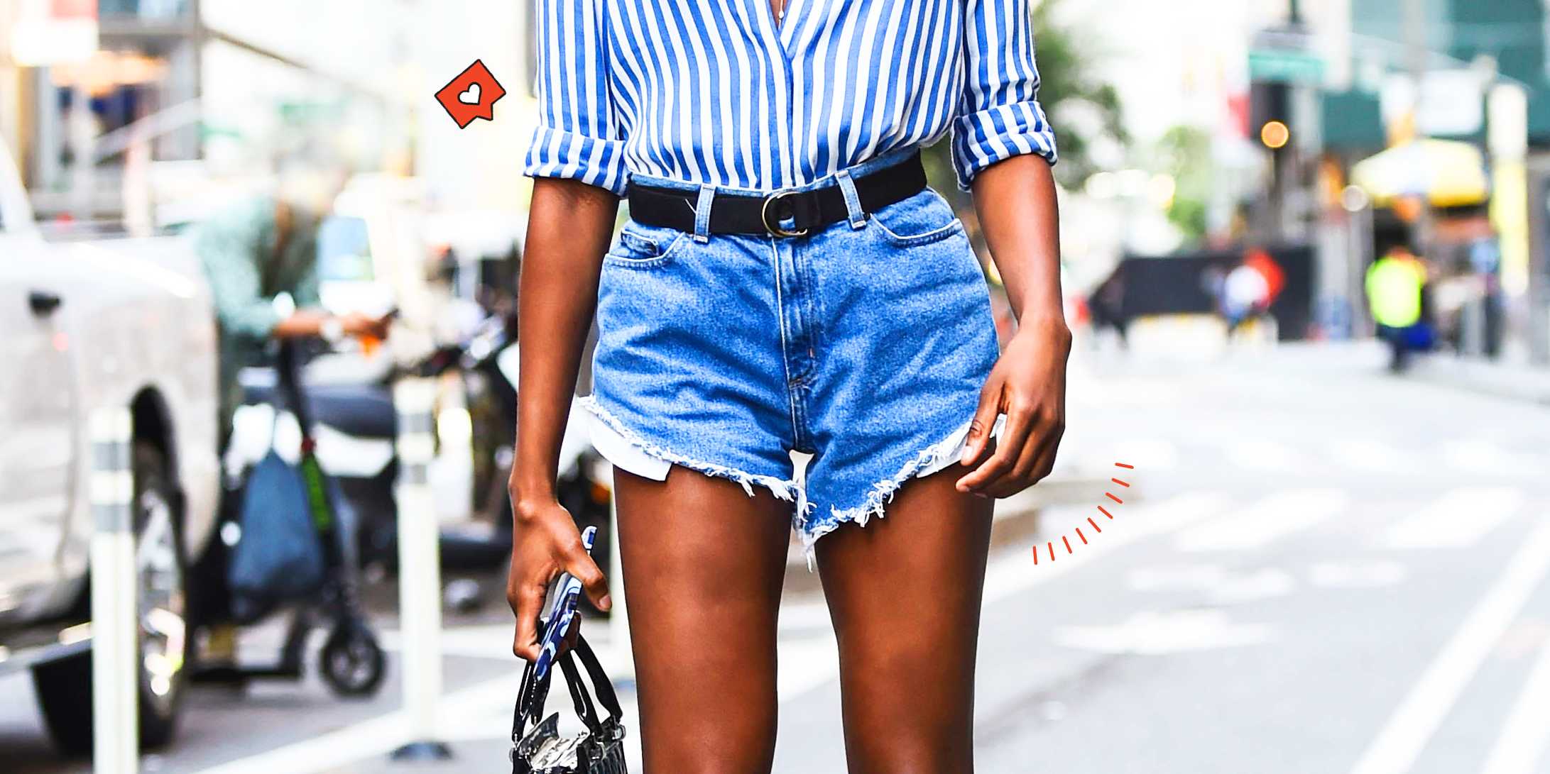 Hur man utformar vita Jean-shorts