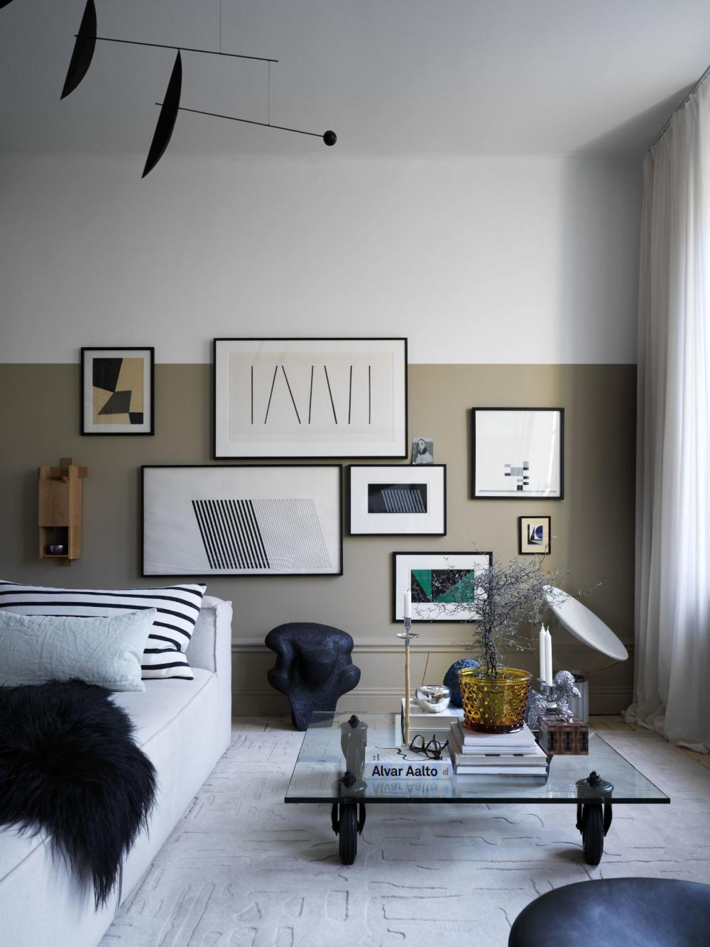 Idéer för att framhäva ditt vardagsrum med Marsala