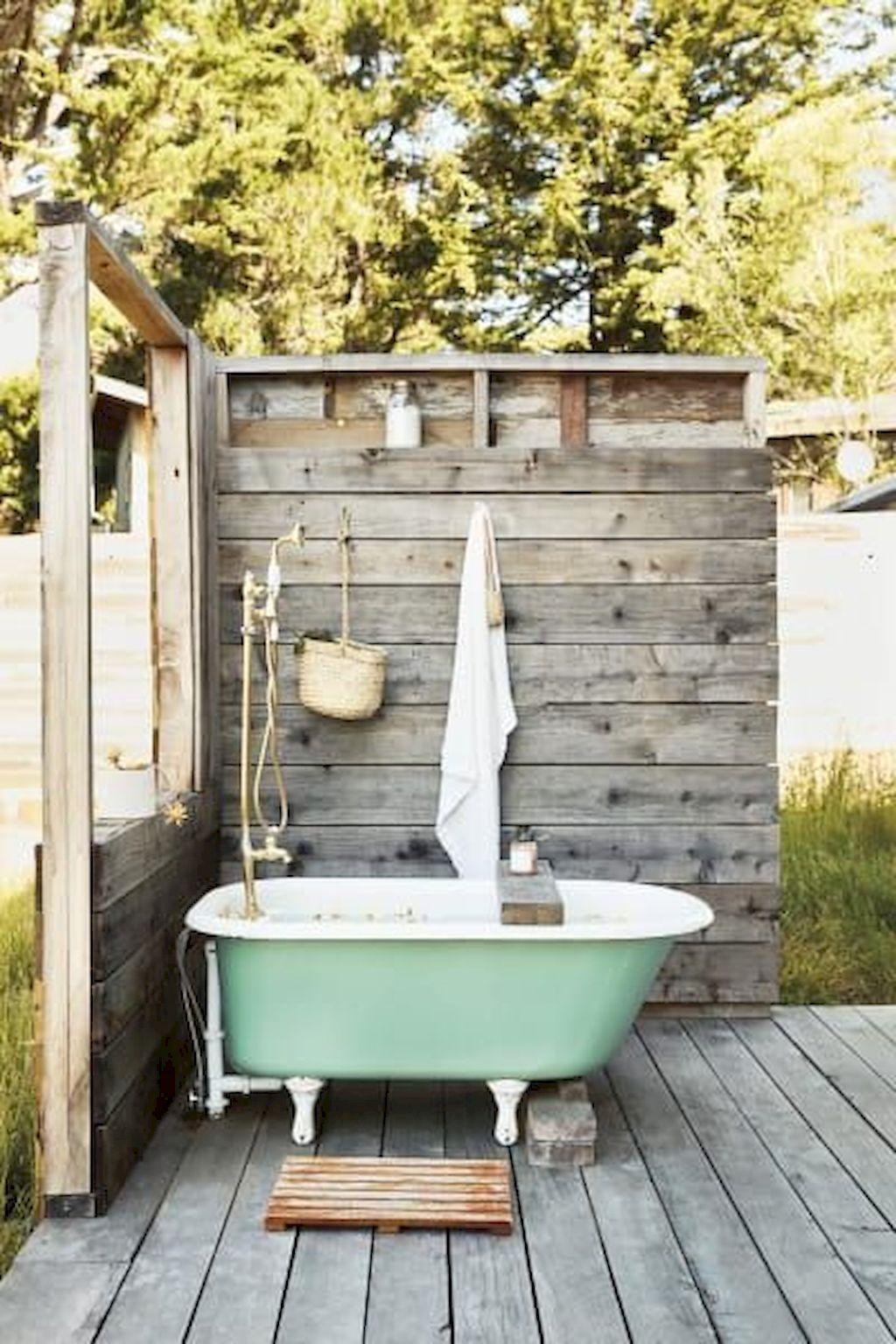 Idéer för badrum utomhus